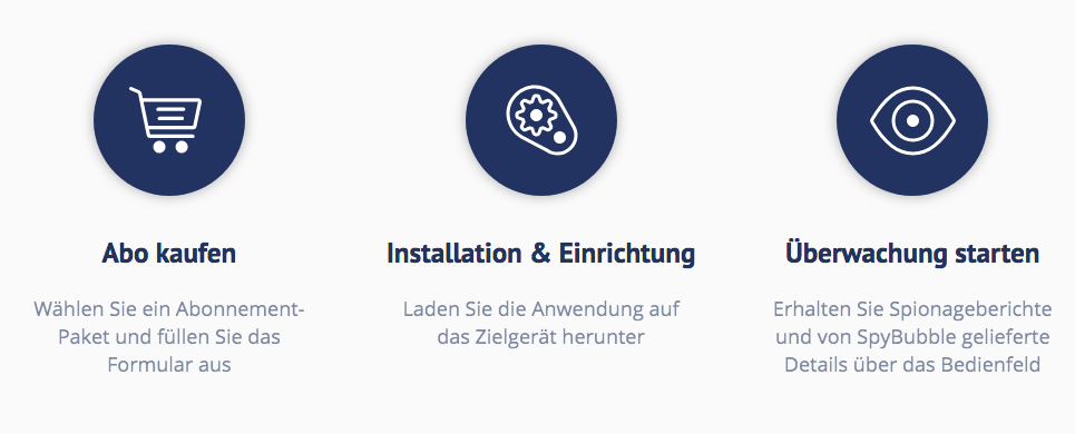 SpyBubble Installation