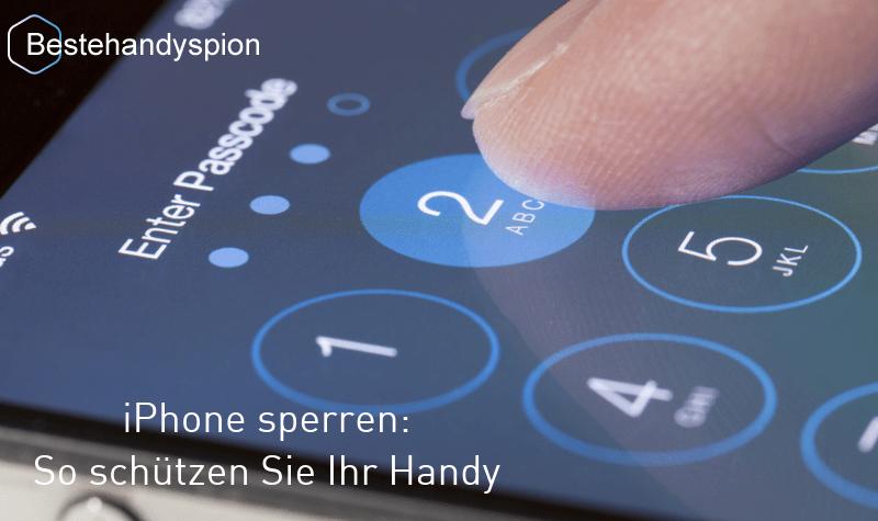 iphone sperren