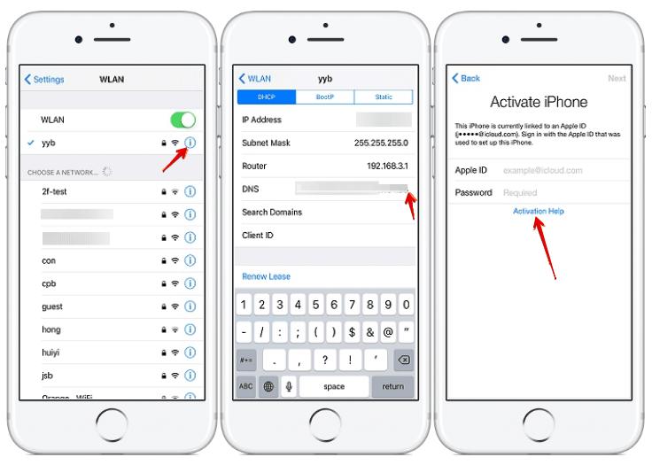 iPhone 7 Aktivierungssperre hacken